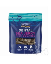 Fish4Dogs Dental Sea Jerky Squares Snack Per Cani