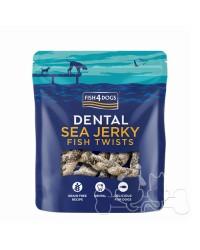 Fish4Dogs Dental Sea Jerky Twists Snack Per Cani