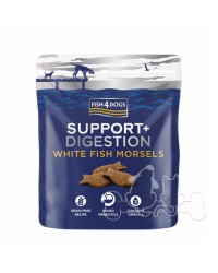 Fish4Dogs Support Digestion White Fish Morsels Snack Per Cani