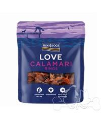 Fish4Dogs Love Calamari Rings Snack Per Cani