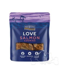 Fish4Dogs Love Salmon Cookies Snack per Cani