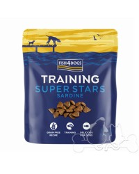 Fish4Dogs Training Super Stars Sardine premio per cani