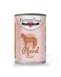 Herzens Hund 100% Cavallo Umido Per Cani
