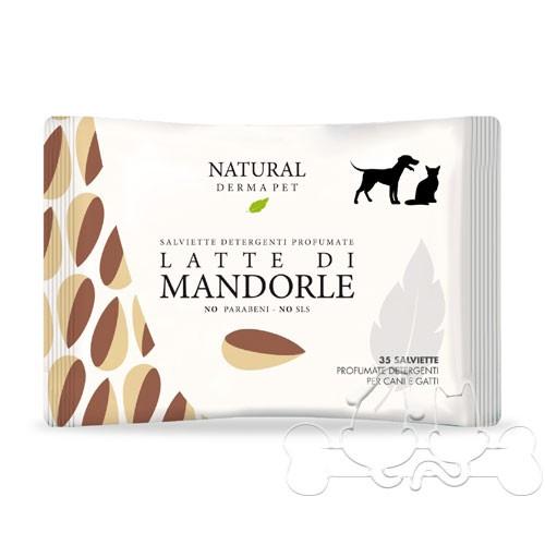 Derbe Salviette Detergenti Fragranza Latte di Mandorle