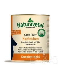 Naturavetal Umido Canis Plus Coniglio Selvaggina Menu Completo Adulti