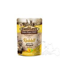 Carnilove Umido Gatto Kitten Coniglio e Calendula