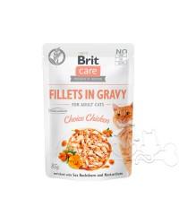 Brit Care Umido Gatto Bustine Adult Pollo di Prima Scelta
