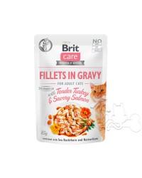 Brit Care Umido Gatto Bustine Adult Tacchino e Salmone