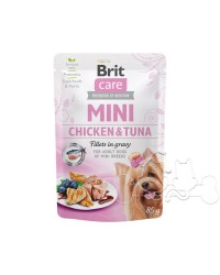Brit Care Umido Cane Bustine Adult Pollo e Tonno
