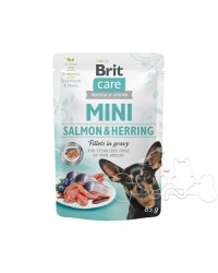Brit Care MINI Umido Cane Sterilized Salmone e Aringa