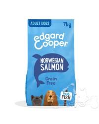 Edgard & Cooper Cane Adult Salmone Norvegese Barbabietola e Mela