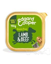Edgard & Cooper umido cane Adult Agnello Manzo Carote e Barbabietole