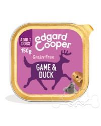 Edgard & Cooper umido cane Adult Selvaggina Anatra Mirtilli e Barbabietola