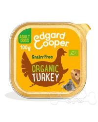 Edgard & Cooper umido cane Adult BIO Tacchino Cocco e Chia