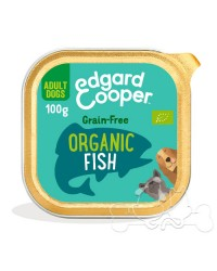 Edgard & Cooper umido cane Adult BIO Pesce Carote e Finocchio