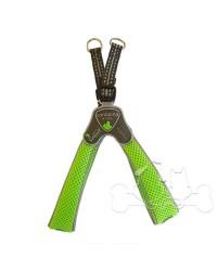 Pettorina Coralpina Cinquetorri Softy Line Verde Fluo