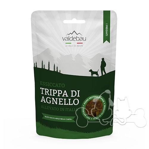 Valdebau I Pregiati di Trippa di Agnello Italiano Snack per Cani