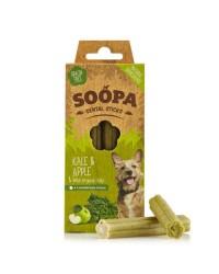 Soopa Dentalstick Cavolo e Mela Snack per Cani