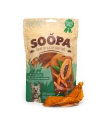 Soopa Chews 100% Papaya Essiccata Snack per Cani