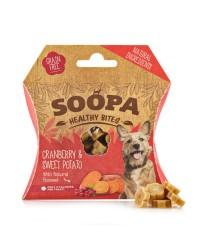Soopa HEALTHY BITES Mirtilli Rossi e Patate Dolci Snack per Cani