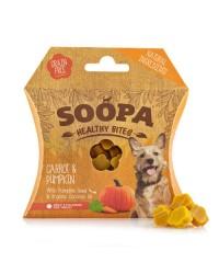 Soopa HEALTHY BITES Carote e Zucca Snack per Cani