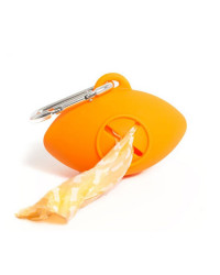 Farm Company Fidoroll Porta Sacchetti Igienici Palla Rugby Fluo Arancio