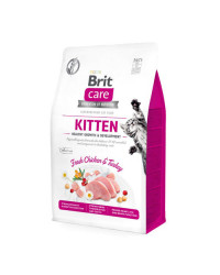 Brit Care Kitten Pollo Fresco e Tacchino per Gattini