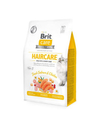 Brit Care Haircare Salmone Fresco e Pollo per Gatti