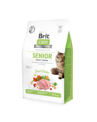 Brit Care Senior Weight Control per Gatti Anziani