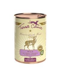 Terra Canis CLASSIC Selvaggina con Zucca, Amaranto e Mirtillo Umido Per Cani