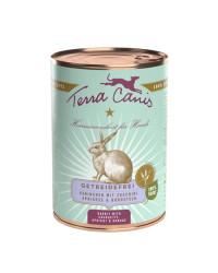 Terra Canis GRAIN FREE Coniglio con Zucchine, Albicocca e Borragine Umido Per Cani