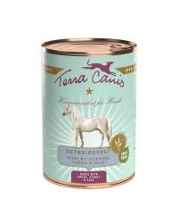 Terra Canis GRAIN FREE Cavallo con Rapa Gialla, Finoccho e Salvia Umido Per Cani
