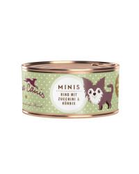 Terra Canis MINIS Manzo con Zucchine e Zucca Umido Per Cani
