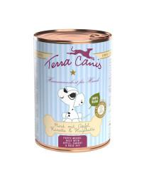 Terra Canis PUPPY Manzo con Mela, Carote e Rosa Canina Umido Per Cuccioli