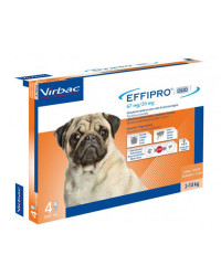 Virbac Effipro Duo Spot On Antiparassitario per Cani SMALL 2-10 Kg