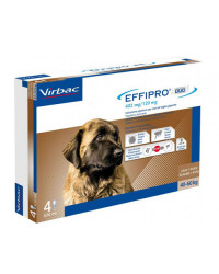 Virbac Effipro Duo Spot On Antiparassitario per Cani EXTRA LARGE Oltre 40 Kg