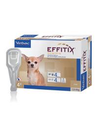 Virbac Effitix Spot On Antiparassitario per Cani EXTRA SMALL 1,5-4 Kg