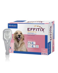 Virbac Effitix Spot On Antiparassitario per Cani LARGE 20-40 Kg