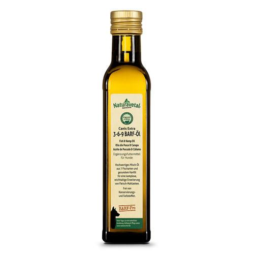 Naturavetal Canis Extra Olio per Barf 3-6-9