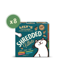 Lily's Kitchen MULTIPACK Filetti in brodo Umido per Gatti