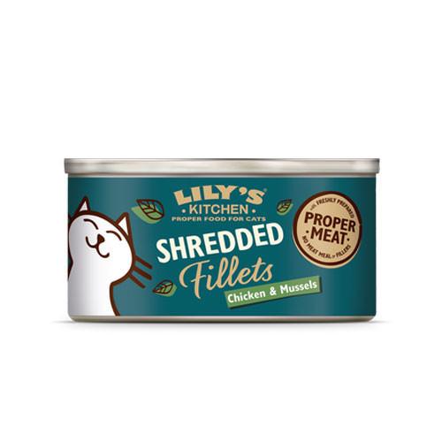 Lily's Kitchen POLLO e COZZE Filetti in brodo Umido per Gatti
