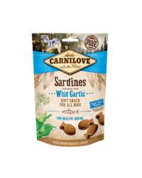 Carnilove Sardine e Aglio Orsino Snack Semiumido per Cani