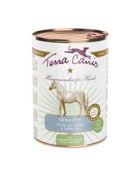 Terra Canis SENSITIVE Cavallo con Cetriolo e Fragola Umido Per Cani