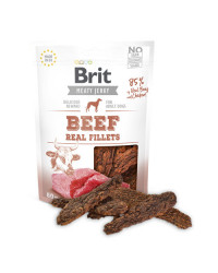 Brit Jerky Beef Fillets Snack per Cani