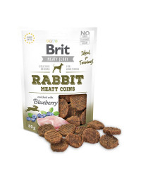 Brit Jerky Rabbit Meaty Coins Snack per Cani