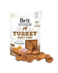 Brit Jerky Turkey Meaty Coins Snack per Cani