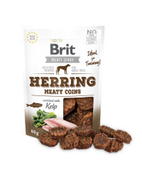 Brit Jerky Herring Meaty Coins Snack per Cani