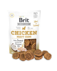 Brit Jerky Chicken Meaty Coins Snack per Cani