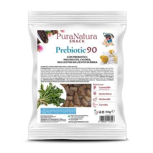 Dalla Grana Pura Natura PREBIOTIC 90 Snack Funzionale per Cani