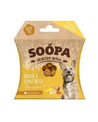 Soopa HEALTHY BITES Banana e Burro di Arachidi Snack per Cani